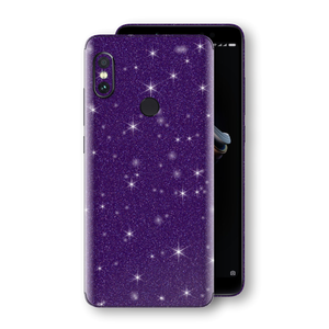 XIAOMI Redmi NOTE 5 Diamond Purple Shimmering, Sparkling, Glitter Skin, Decal, Wrap, Protector, Cover by EasySkinz | EasySkinz.com