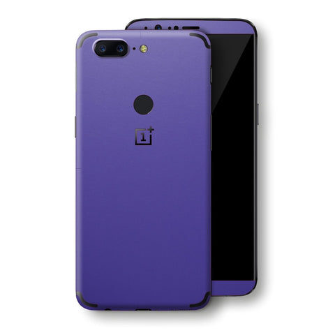 OnePlus 5T Royal Purple Matt Skin, Decal, Wrap, Protector, Cover by EasySkinz | EasySkinz.com