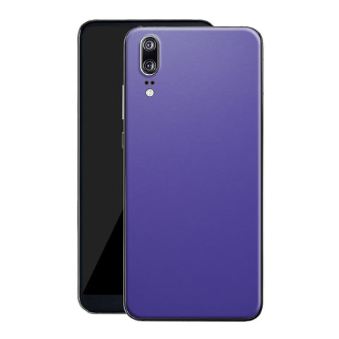 Huawei P20 Royal Purple Matt Skin, Decal, Wrap, Protector, Cover by EasySkinz | EasySkinz.com