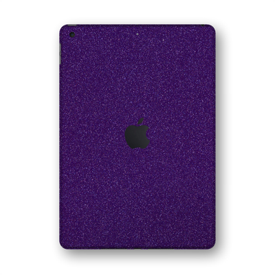 "iPad 10.2"" (8th Gen, 2020) Diamond PURPLE Glitter Shimmering Skin Wrap Sticker Decal Cover Protector by EasySkinz"