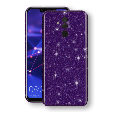 Huawei MATE 20 LITE Diamond Purple Shimmering, Sparkling, Glitter Skin, Decal, Wrap, Protector, Cover by EasySkinz | EasySkinz.com