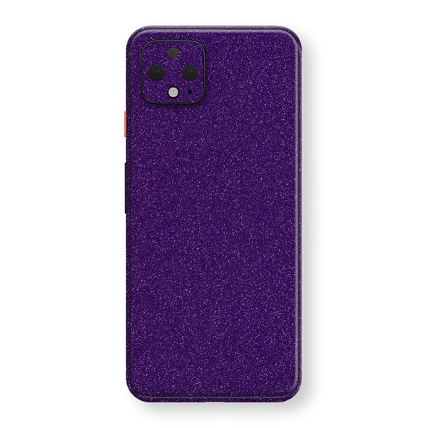 Google Pixel 4 XL Diamond Purple Shimmering, Sparkling, Glitter Skin, Decal, Wrap, Protector, Cover by EasySkinz | EasySkinz.com