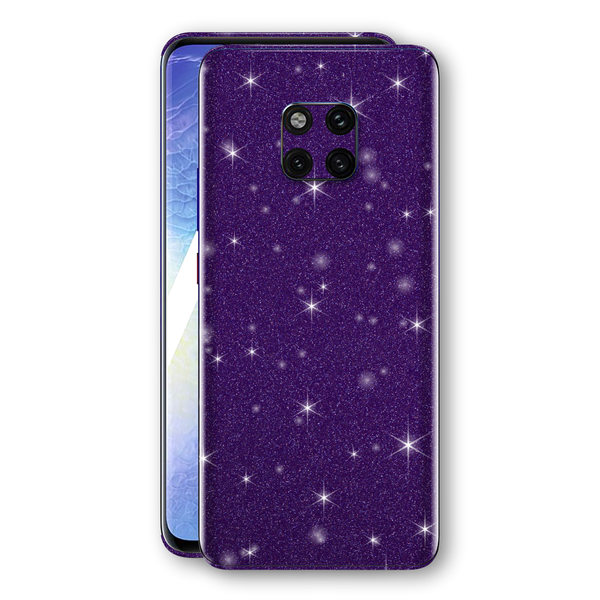 Huawei MATE 20 PRO Diamond Purple Shimmering, Sparkling, Glitter Skin, Decal, Wrap, Protector, Cover by EasySkinz | EasySkinz.com