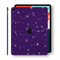 "iPad PRO 11"" inch 2018 Diamond PURPLE Glitter Shimmering Skin Wrap Sticker Decal Cover Protector by EasySkinz"