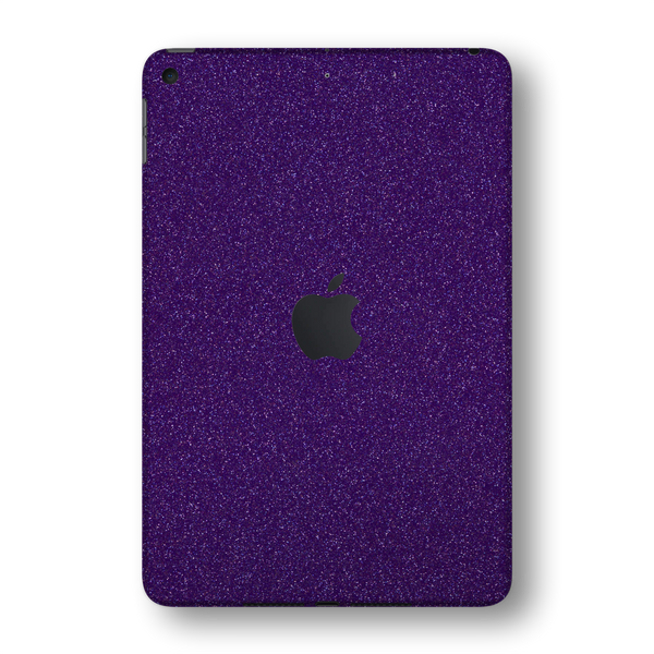 iPad MINI 5 (5th Generation 2019) Diamond PURPLE Glitter Shimmering Skin Wrap Sticker Decal Cover Protector by EasySkinz