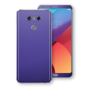 LG G6 Royal Purple Matt 3M Skin Wrap Decal by EasySkinz