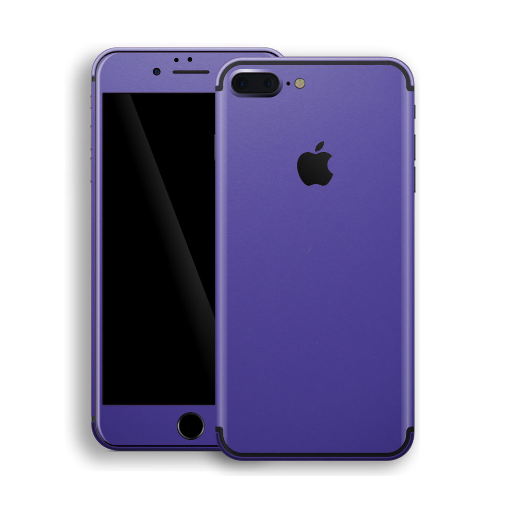 iPhone 7 Plus Royal Purple Matt Skin, Decal, Wrap, Protector, Cover by EasySkinz | EasySkinz.com