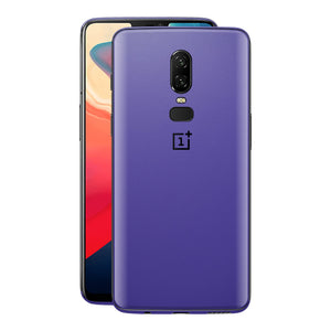 OnePlus 6 Royal Purple Matt Skin, Decal, Wrap, Protector, Cover by EasySkinz | EasySkinz.com