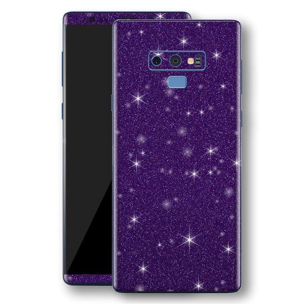 Samsung Galaxy NOTE 9 Diamond Purple Shimmering, Sparkling, Glitter Skin, Decal, Wrap, Protector, Cover by EasySkinz | EasySkinz.com