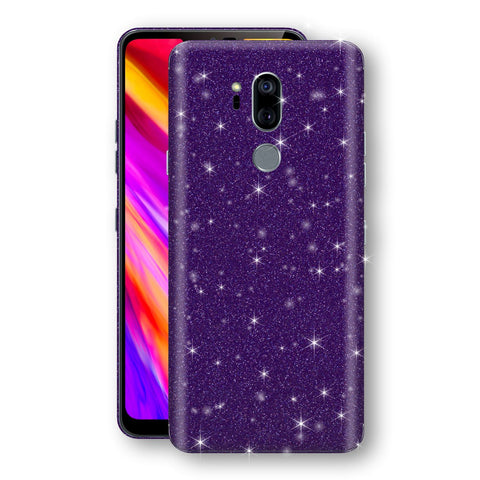 LG G7 ThinQ Diamond Purple Shimmering, Sparkling, Glitter Skin, Decal, Wrap, Protector, Cover by EasySkinz | EasySkinz.com