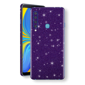 Samsung Galaxy A9 (2018) Diamond Purple Shimmering, Sparkling, Glitter Skin, Decal, Wrap, Protector, Cover by EasySkinz | EasySkinz.com