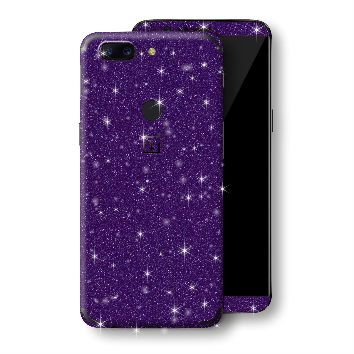 OnePlus 5T Diamond Purple Shimmering, Sparkling, Glitter Skin, Decal, Wrap, Protector, Cover by EasySkinz | EasySkinz.com