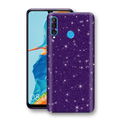 Huawei P30 LITE Diamond Purple Shimmering, Sparkling, Glitter Skin, Decal, Wrap, Protector, Cover by EasySkinz | EasySkinz.com