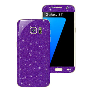 Samsung Galaxy S7 DIAMOND PURPLE Skin Wrap Decal Sticker Cover Protector by EasySkinz