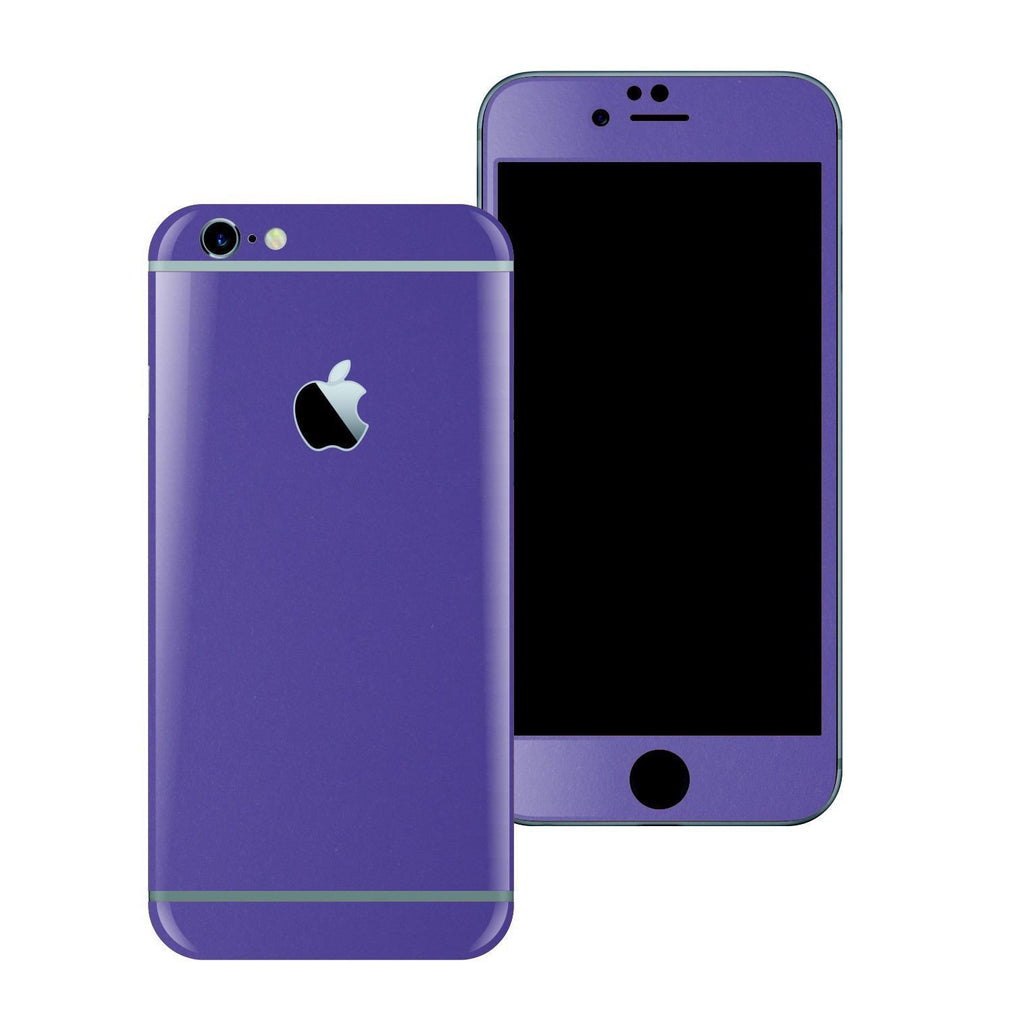 iPhone 6 Plus Colorful 3M ROYAL PURPLE MATT Skin Wrap Sticker Cover Protector Decal by EasySkinz