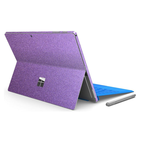 Microsoft Surface PRO 4 Violet Metallic MATT Matte Skin Wrap Sticker Decal Cover Protector by EasySkinz