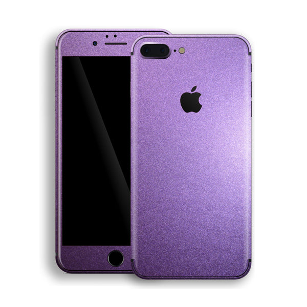 iPhone 8 Plus Violet Matt Metallic Skin, Decal, Wrap, Protector, Cover by EasySkinz | EasySkinz.com