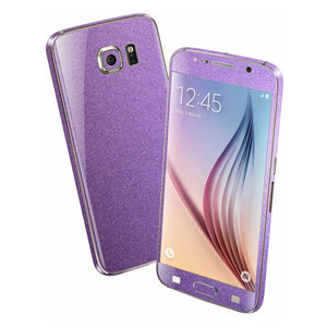 Samsung Galaxy S6 Violet Matt Matte Metallic Skin Wrap Sticker Cover Protector Decal by EasySkinz