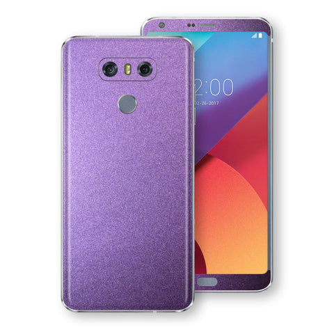 LG G6 Violet Matt Metallic Skin, Decal, Wrap, Protector, Cover by EasySkinz | EasySkinz.com