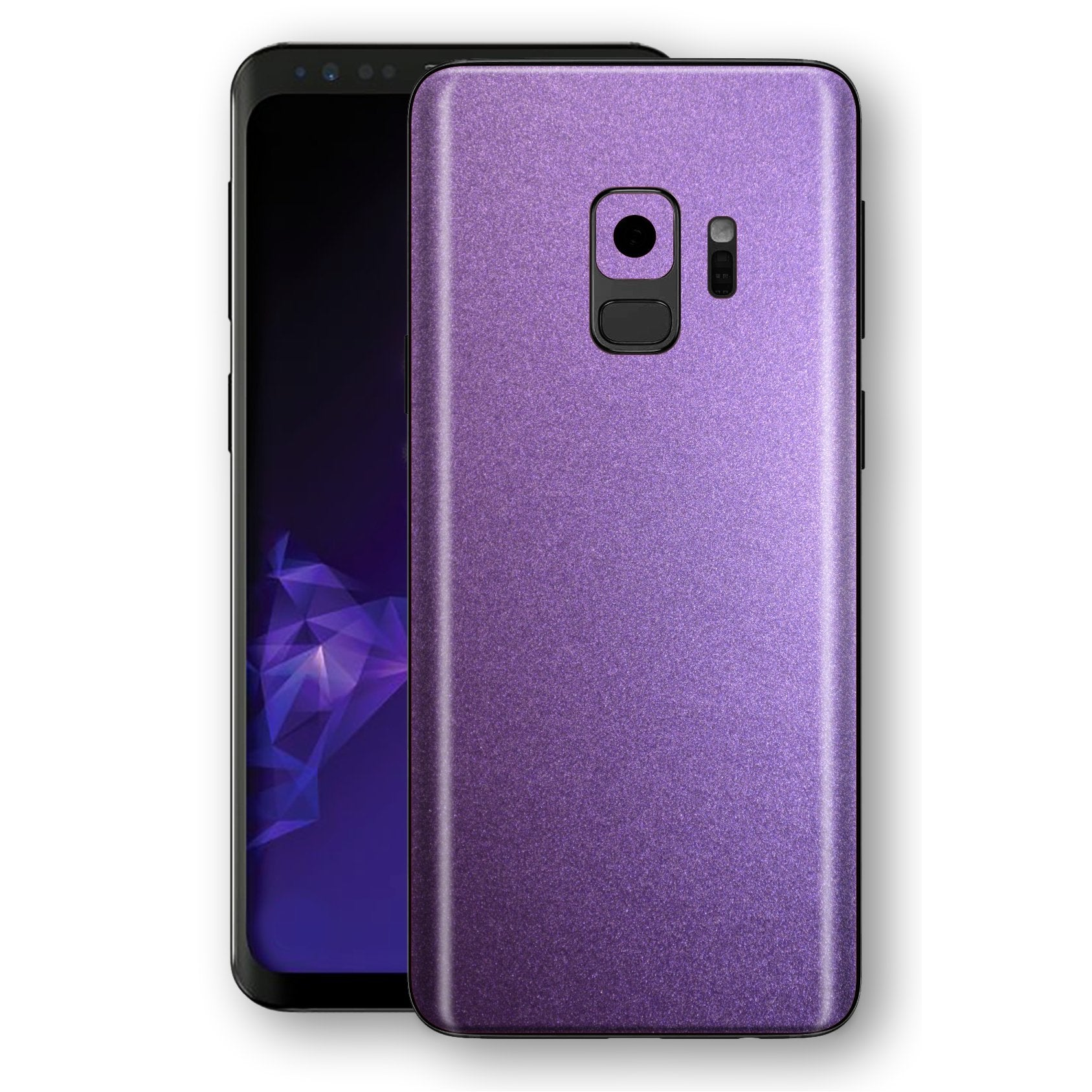 Samsung GALAXY S9 Violet Matt Metallic Skin, Decal, Wrap, Protector, Cover by EasySkinz | EasySkinz.com