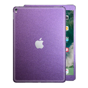 iPad PRO 10.5 inch 2017 Matt Matte VIOLET Metallic Skin Wrap Sticker Decal Cover Protector by EasySkinz