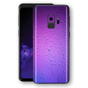 Samsung Galaxy S9 Signature Purple Rain Skin, Decal, Wrap, Protector, Cover by EasySkinz | EasySkinz.com
