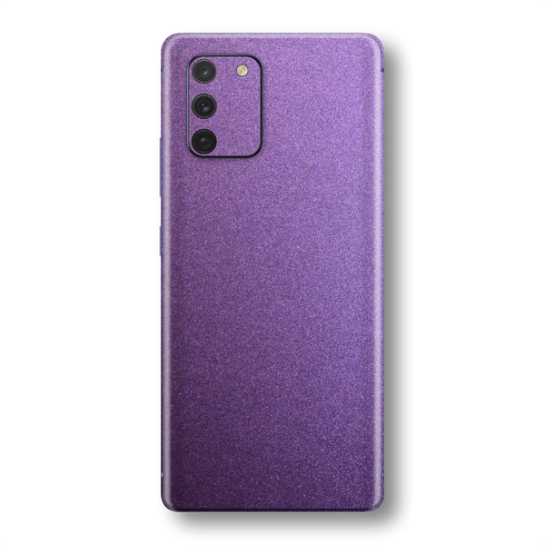 Samsung Galaxy S10 LITE Violet Matt Metallic Skin Wrap Sticker Decal Cover Protector by EasySkinz