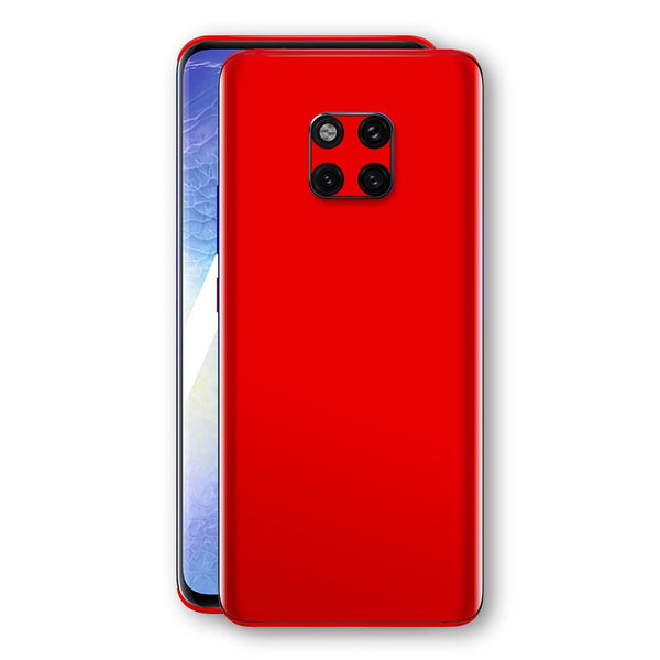 Huawei MATE 20 PRO Red Matt Skin, Decal, Wrap, Protector, Cover by EasySkinz | EasySkinz.com