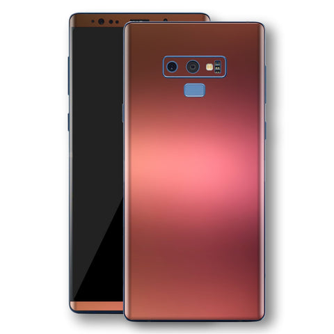 Samsung Galaxy NOTE 9 Chameleon Aubergine Bronze Skin Wrap Decal Cover by EasySkinz