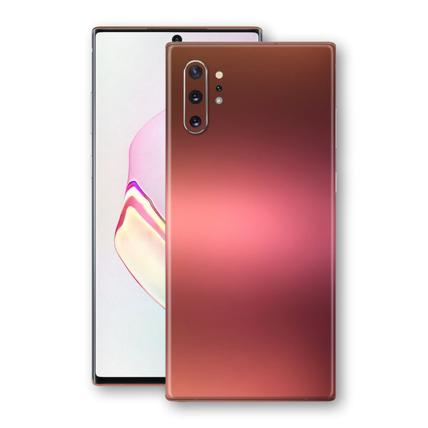 Samsung Galaxy NOTE 10+ PLUS Chameleon Aubergine Bronze Skin Wrap Decal Cover by EasySkinz