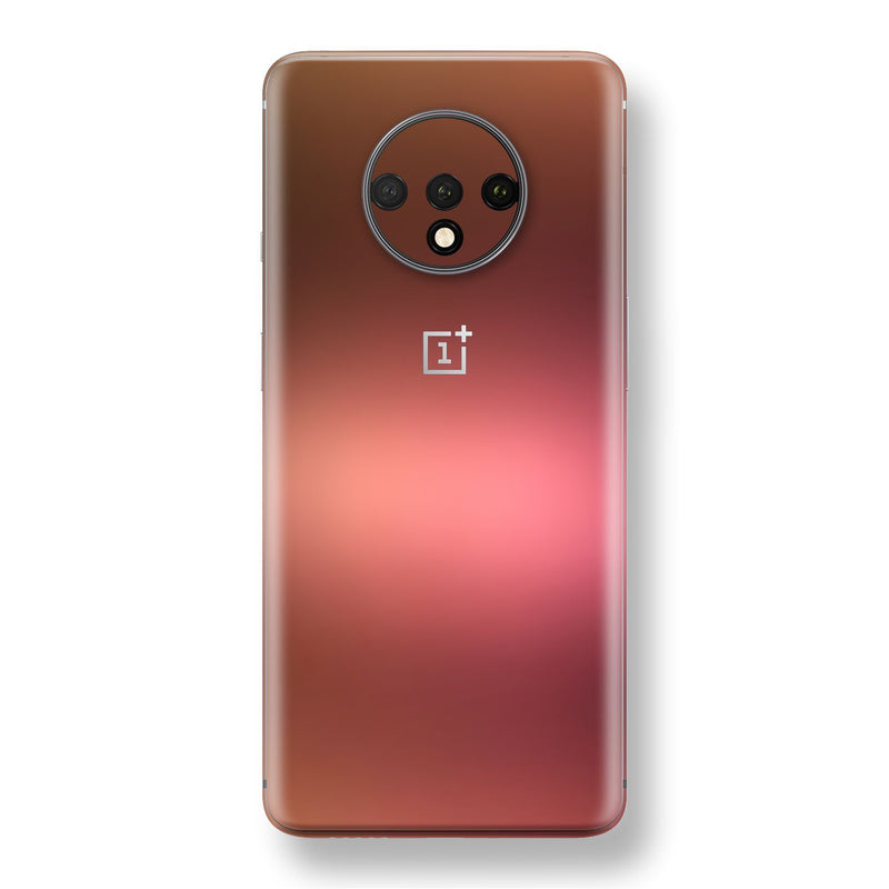 OnePlus 7T Chameleon Aubergine Bronze Skin Wrap Decal Cover by EasySkinz