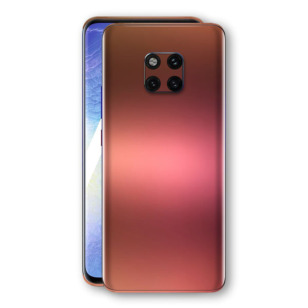 Huawei MATE 20 PRO Chameleon Aubergine Bronze Skin Wrap Decal Cover by EasySkinz
