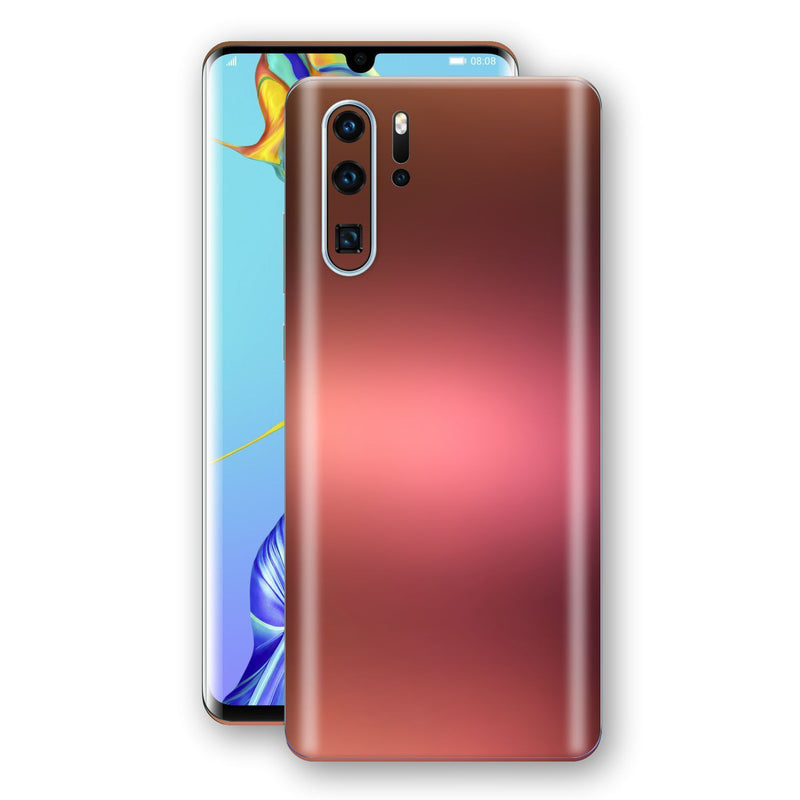 Huawei P30 PRO Chameleon Aubergine Bronze Skin Wrap Decal Cover by EasySkinz