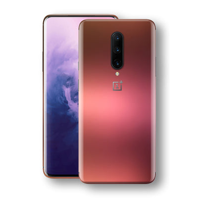 OnePlus 7 PRO Chameleon Aubergine Bronze Skin Wrap Decal Cover by EasySkinz