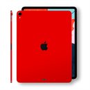 iPad PRO 11-inch 2018 Glossy Bright Red Skin Wrap Sticker Decal Cover Protector by EasySkinz