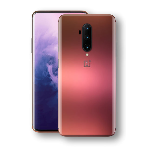 OnePlus 7T PRO Chameleon Aubergine Bronze Skin Wrap Decal Cover by EasySkinz