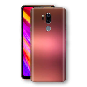 LG G7 ThinQ Chameleon Aubergine Bronze Skin Wrap Decal Cover by EasySkinz