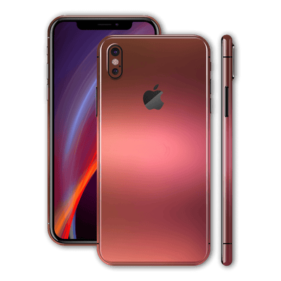 iPhone X Chameleon Aubergine Bronze Colour-changing Skin, Wrap, Decal, Protector, Cover by EasySkinz | EasySkinz.com