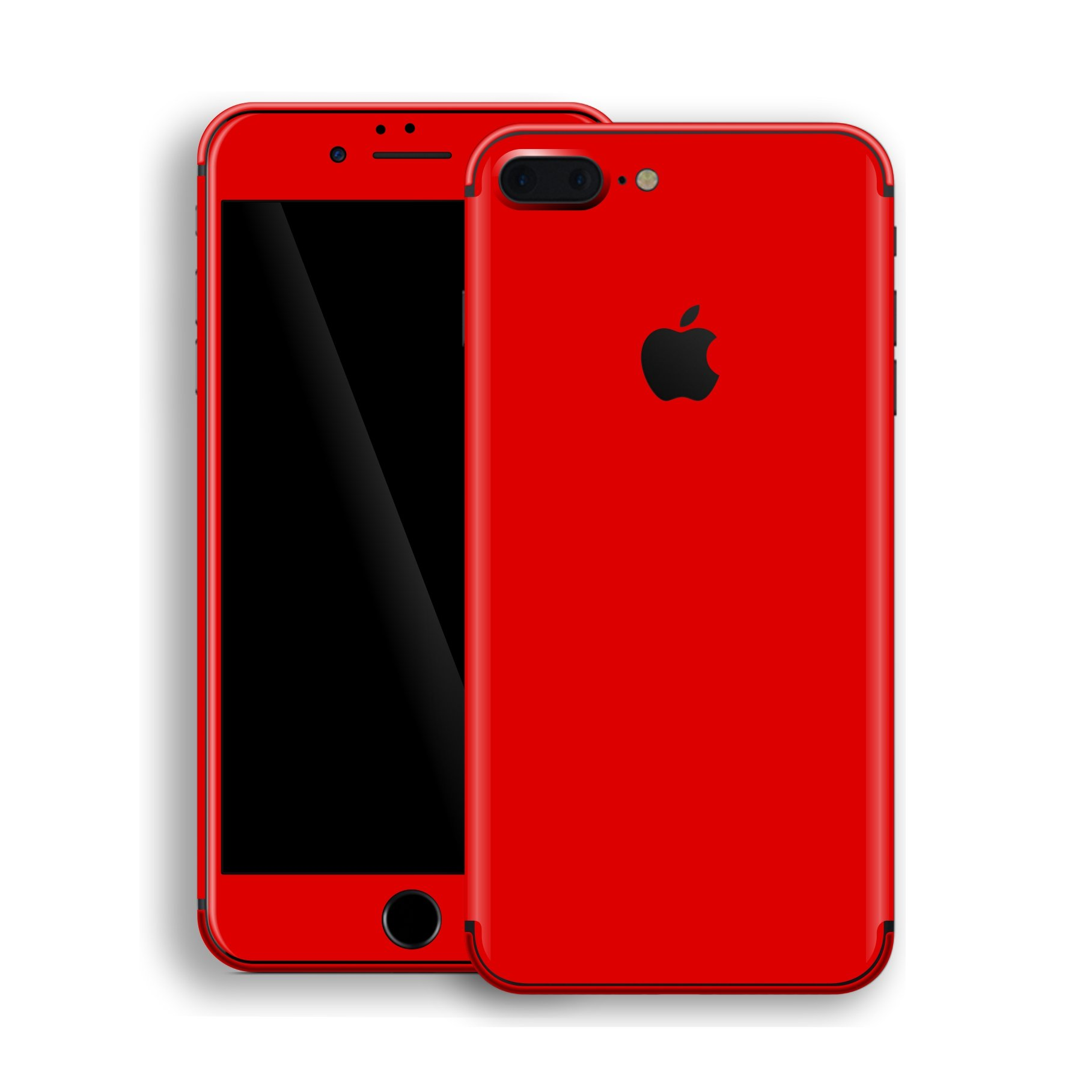 wholesale dealer bd516 ce89a iPhone 8 PLUS GLOSSY Bright Red Skin