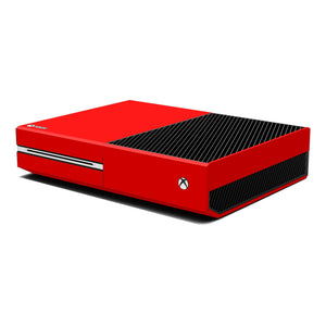 Xbox One Console Red MATT Skin Wrap Sticker Decal Protector Cover by EasySkinz