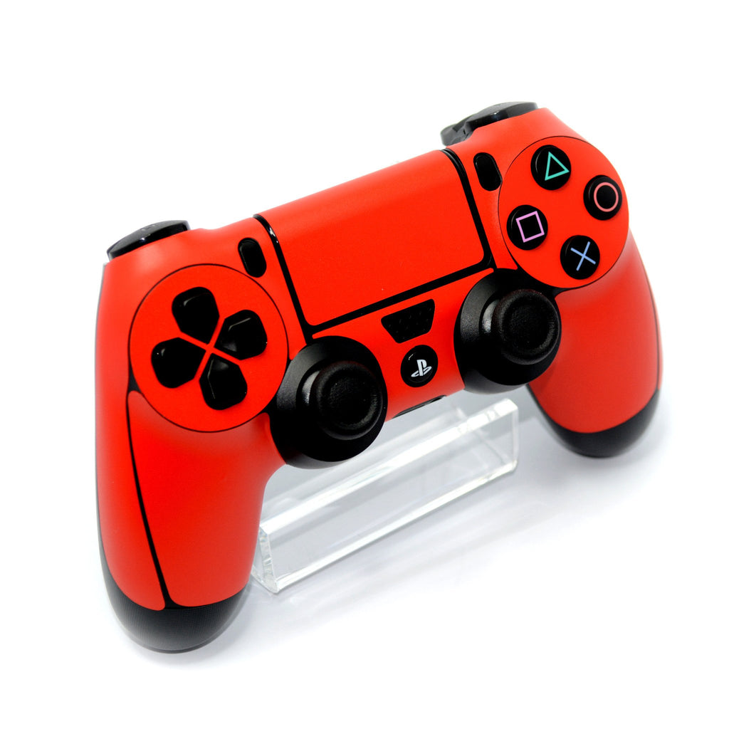 ps4 controller red matt