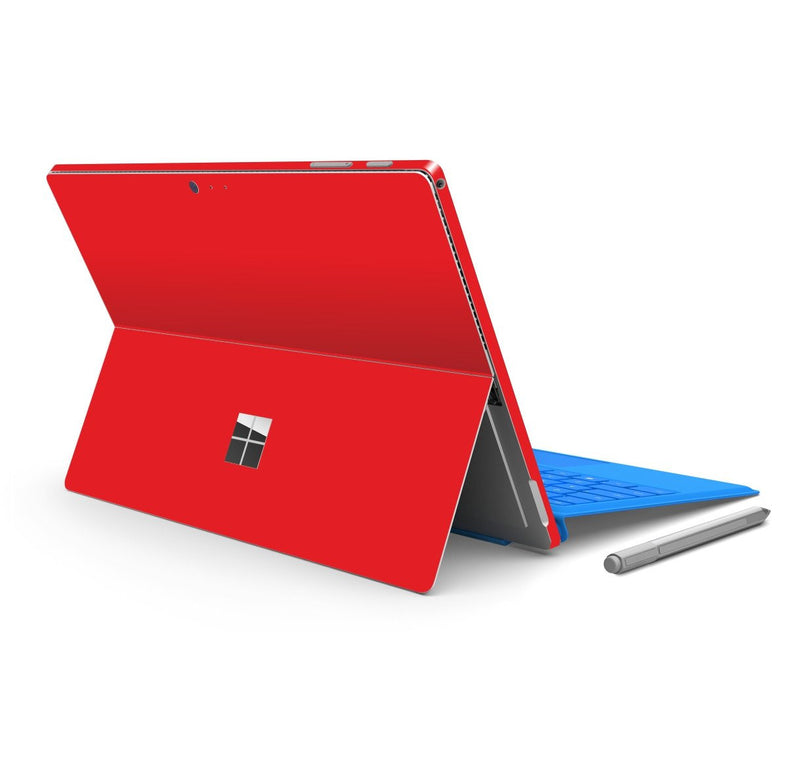 Microsoft Surface PRO 4 Red MATT Matte Skin Wrap Sticker Decal Cover Protector by EasySkinz