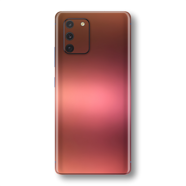 Samsung Galaxy S10 LITE Chameleon Aubergine Bronze Skin Wrap Sticker Decal Cover Protector by EasySkinz