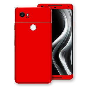 Google Pixel 2 XL Red Skin, Decal, Wrap, Protector, Cover by EasySkinz | EasySkinz.com