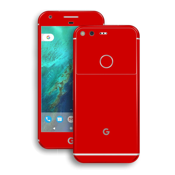 Google Pixel XL Red Matt Skin by EasySkinz