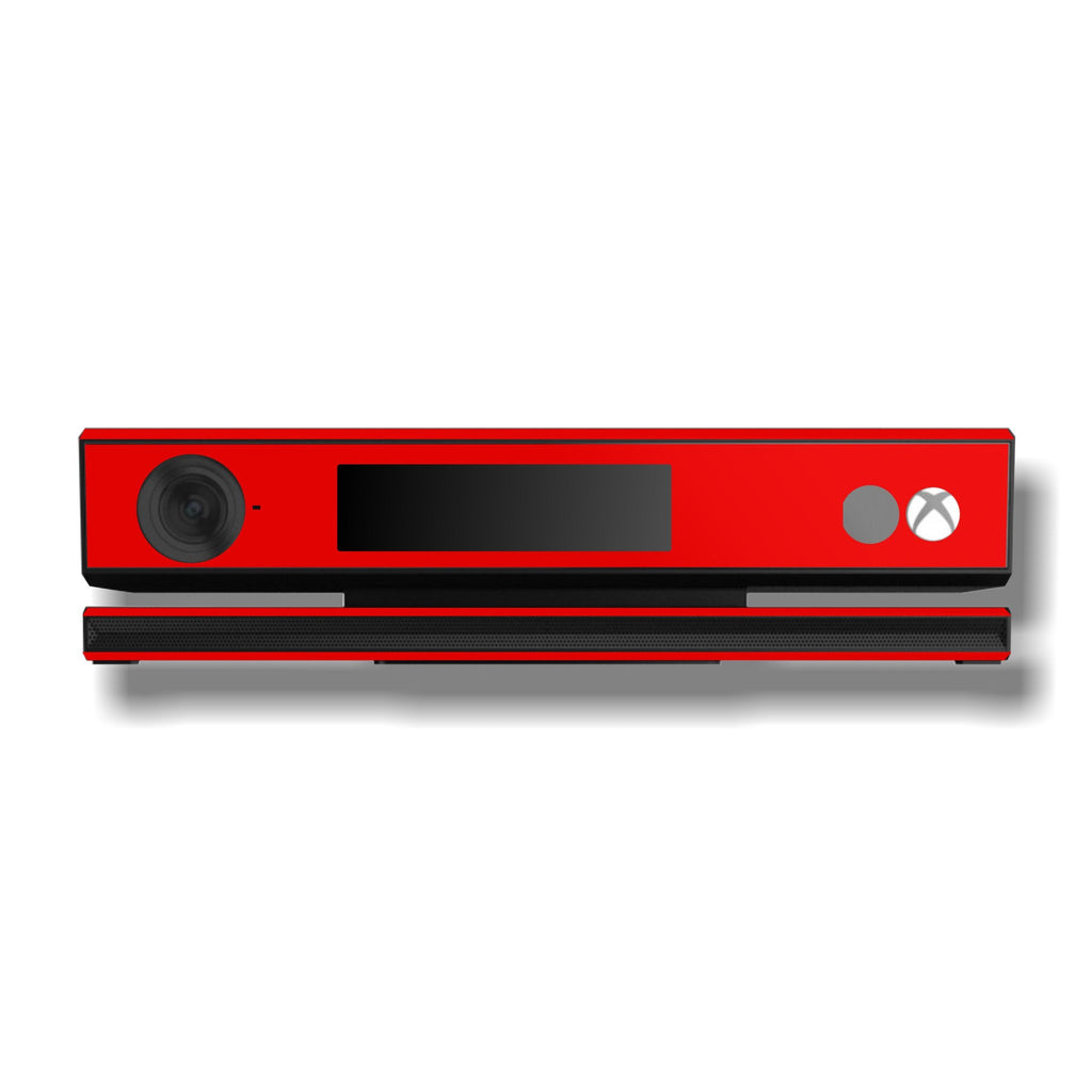 Xbox One Kinect Red MATT Matte Skin Wrap Sticker Decal Protector Cover by EasySkinz
