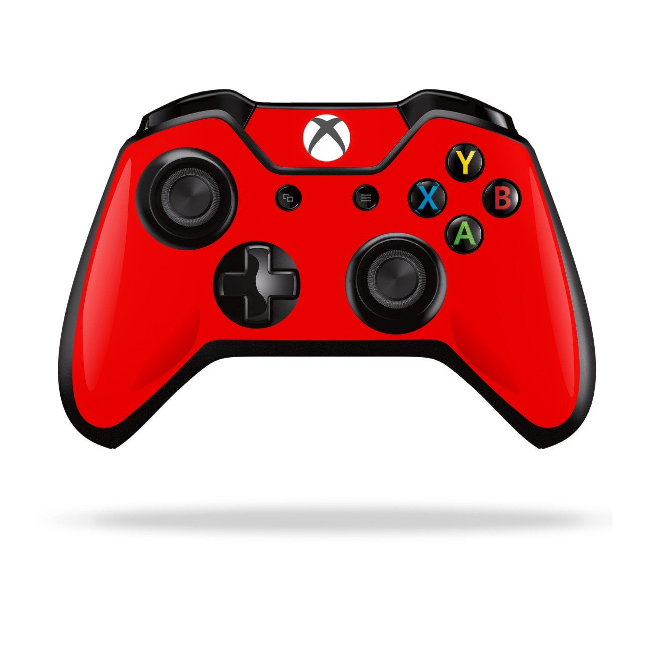 Xbox One Controller Red MATT Matte Skin Wrap Sticker Decal Protector Cover by EasySkinz