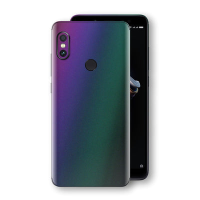 XIAOMI Redmi NOTE 5 Chameleon DARK OPAL Skin Wrap Decal Cover by EasySkinz