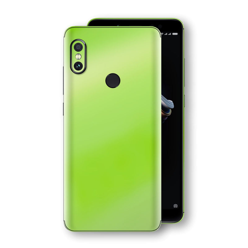 XIAOMI Redmi NOTE 5 Apple Green Pearl Gloss Finish Skin Wrap Decal Cover by EasySkinz