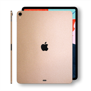 iPad Pro 11-inch 2018 Luxuria Rose Gold Metallic Skin Wrap Decal Protector | EasySkinz